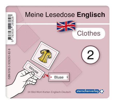 """Meine Lesedose Englisch 2 - """"clothes"""""""