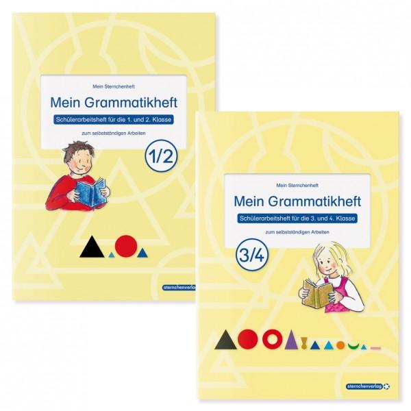 Mein Grammatikheft 1/2 und 3/4 im Kombi