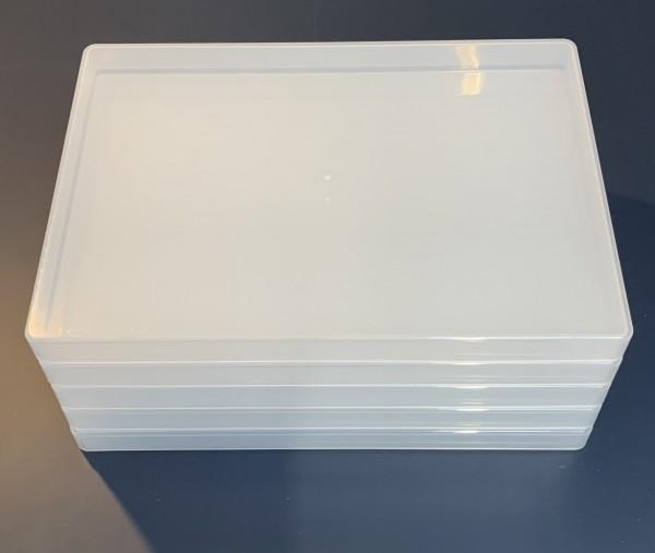 5 Rechteckdosen A4 (flach)