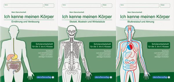 Ich kenne meinen Körper – 3 Hefte im Kombi
