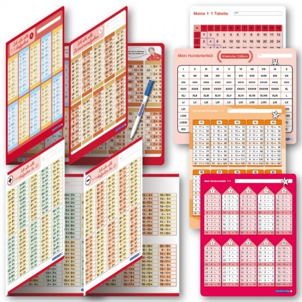 Lehrerprüfpaket 9 - Mathematik: Schreibfelder