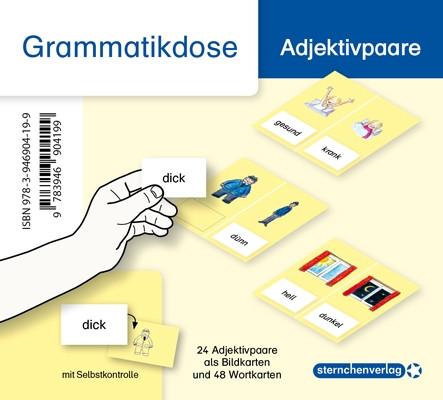 Grammatikdose – Adjektivpaare