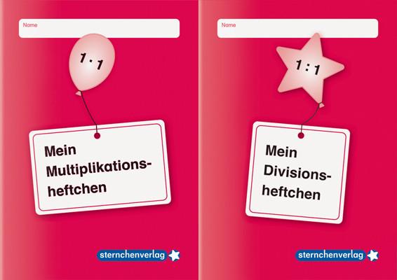 Multiplikations- und Divisionsheftchen