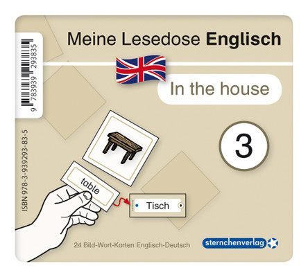 "Meine Lesedose Englisch 3 - ""In the house"""