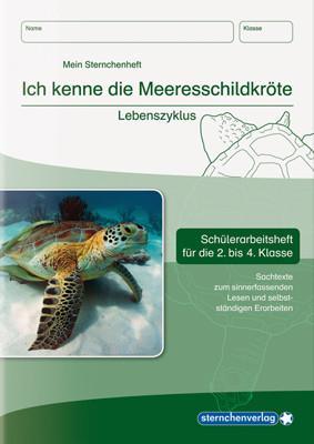 Ich kenne die Meeresschildkröte – Lebenszyklus