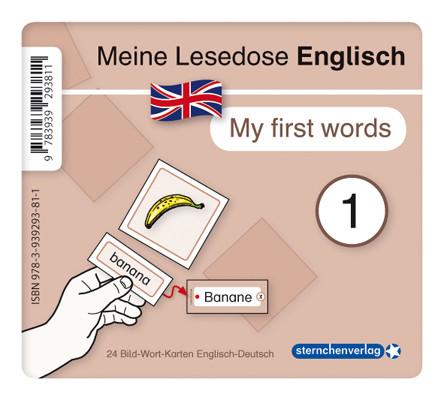 """Meine Lesedose Englisch 1 - """"My first words"""""""