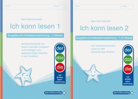 Ich kann lesen 1 und 2 – AKZ - Kombi