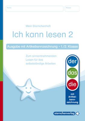 Ich kann lesen 2 – Ausgabe mit Artikelkennzeichnung